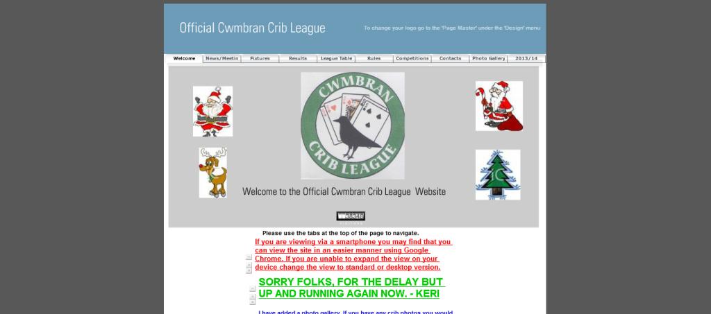 Cwmbran Crib League